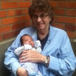 Sr. Anne Marie and baby